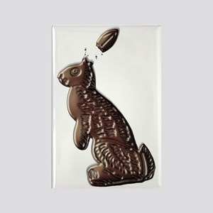 Chocolate Easter Bunny Rectangle Magnet