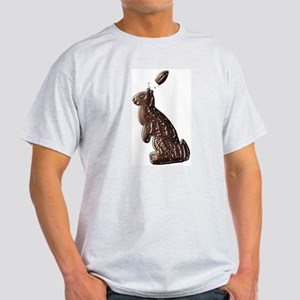 Chocolate Easter Bunny Ash Grey T-Shirt