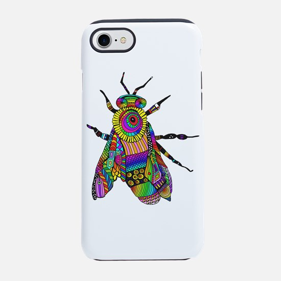 Painted Bee iPhone 7 Tough Case