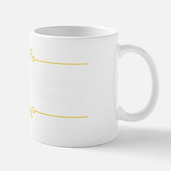 elasticwaistbandsDark Mug