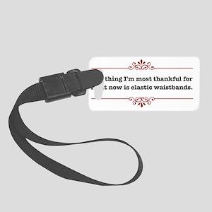 elasticwaistbandsLight Small Luggage Tag