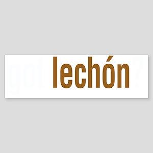 gotLechonDark Sticker (Bumper)