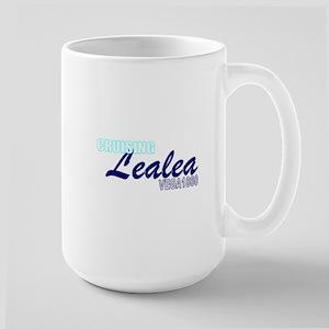 Cruising Lealea W/Hull Cap Large Mug