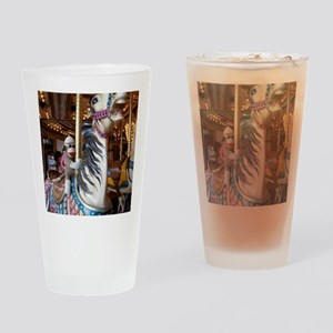 merrygoround Drinking Glass