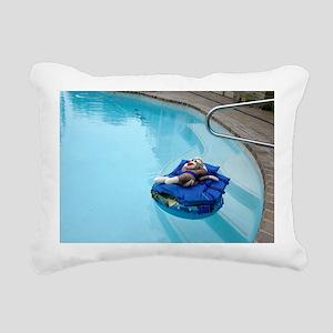 2-pool Rectangular Canvas Pillow