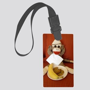 snack Large Luggage Tag