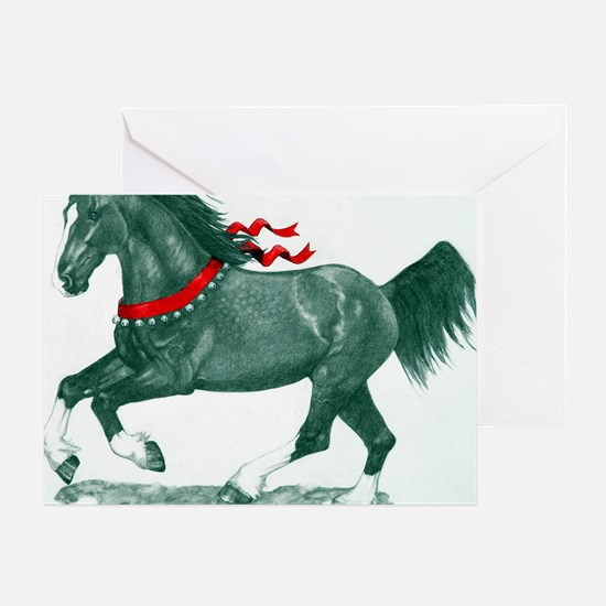 cp_drafthorse Greeting Card
