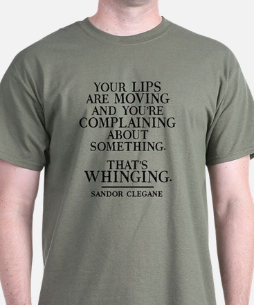 Unique Whining T-Shirt