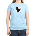 Doggy Accident Women's Pink T-Shirt