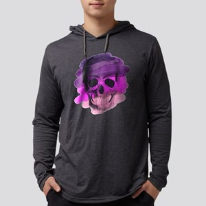 Purple Skul Long Sleeve T-Shirt