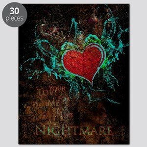 Love_Is_Like_A_Nightmare_16x20 Puzzle