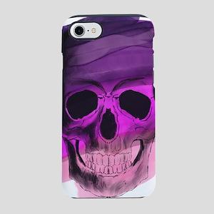 Purple Skull iPhone 7 Tough Case