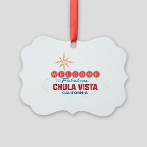 CHULA VISTA Picture Ornament
