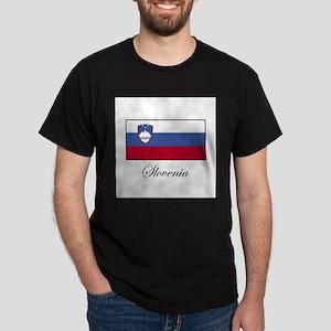 Slovenia - Flag Dark T-Shirt