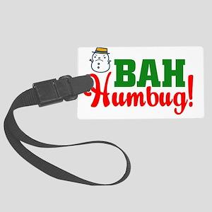 BahHumbugLight Large Luggage Tag