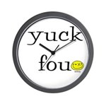 Yuck Fou Wall Clock