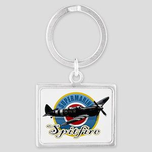 Spitfire Landscape Keychain