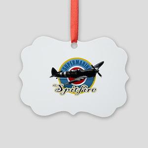 Spitfire Picture Ornament