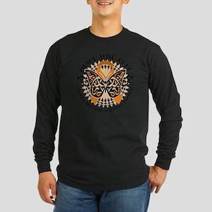 Multiple-Sclerosis-Butter Long Sleeve Dark T-Shirt