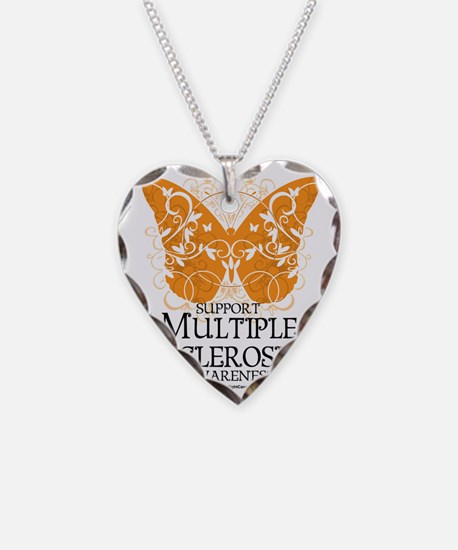 Multiple-Sclerosis-Butterfly Necklace