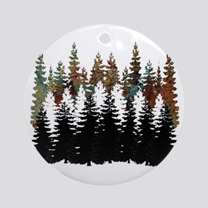 THIS HUE Round Ornament