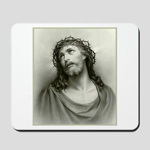 Portrait of Jesus Mousepad