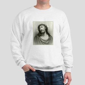 Portrait of Jesus Sweatshirt