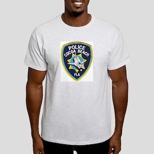 Cocoa Beach Police Ash Grey T Shirt