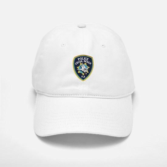 Cocoa Beach Police Baseball Baseball Cap