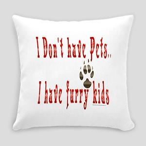 Furry Kids Everyday Pillow