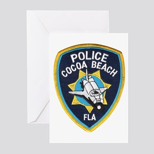 Cocoa Beach Police Greeting Cards (Pk of 10)