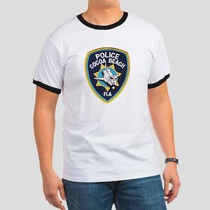 Cocoa Beach Police Ringer T
