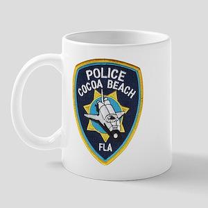 Cocoa Beach Police Mug
