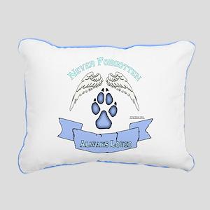 Pet Angel Rectangular Canvas Pillow