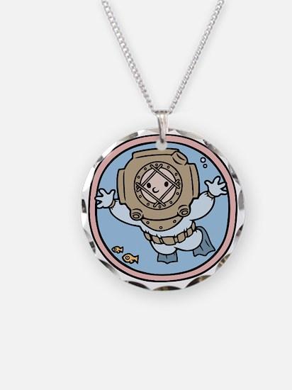 diver-womb-T Necklace
