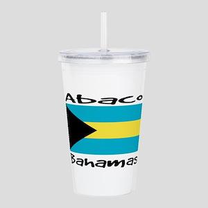 Abaco Bahamas Acrylic Double-wall Tumbler