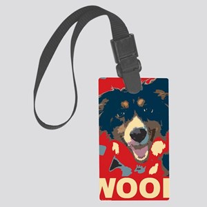 woof Large Luggage Tag