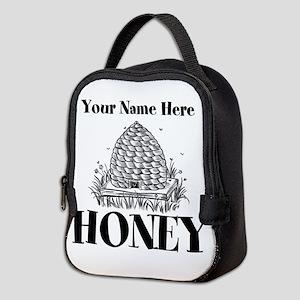 Vintage Honey Neoprene Lunch Bag
