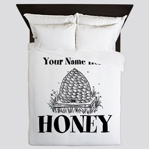 Vintage Honey Queen Duvet