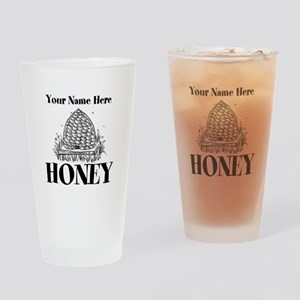 Vintage Honey Drinking Glass