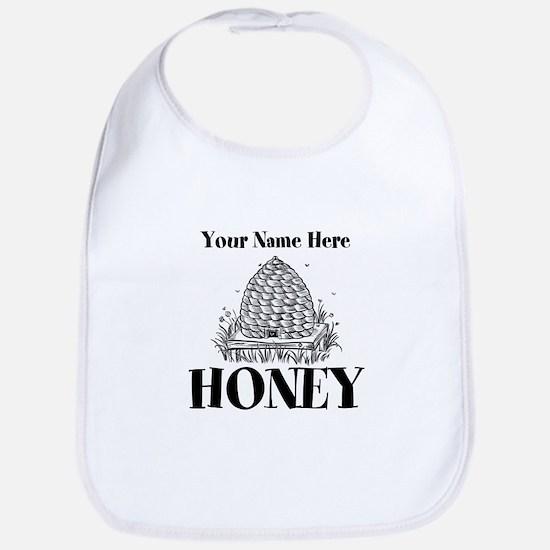 Vintage Honey Baby Bib