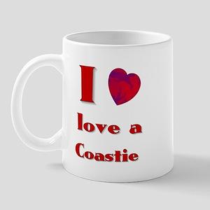 I LOVE A COASTIE Mug