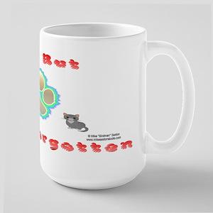 Cat Memorial Large Mug