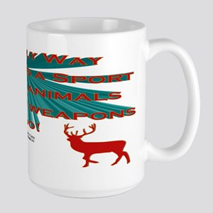 Anti-Hunting Large Mug