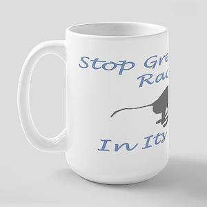 Stop Greyhound Racing Large Mug