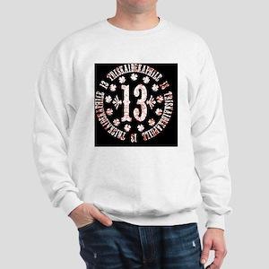 triskaidekaphile-CRD Sweatshirt