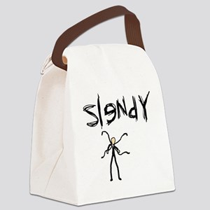 slendertentaclesfin Canvas Lunch Bag