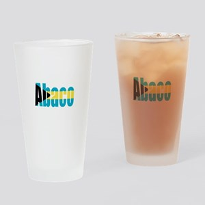 Abaco Bahamas Drinking Glass
