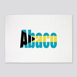 Abaco Bahamas 5'x7'Area Rug