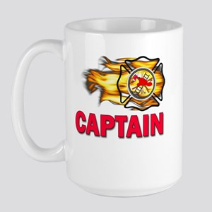 Fire Department Captain Large Mug